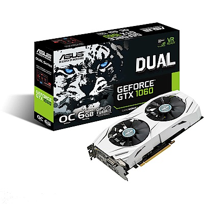 ASUS華碩 DUAL-GTX1060-O6G Gaming