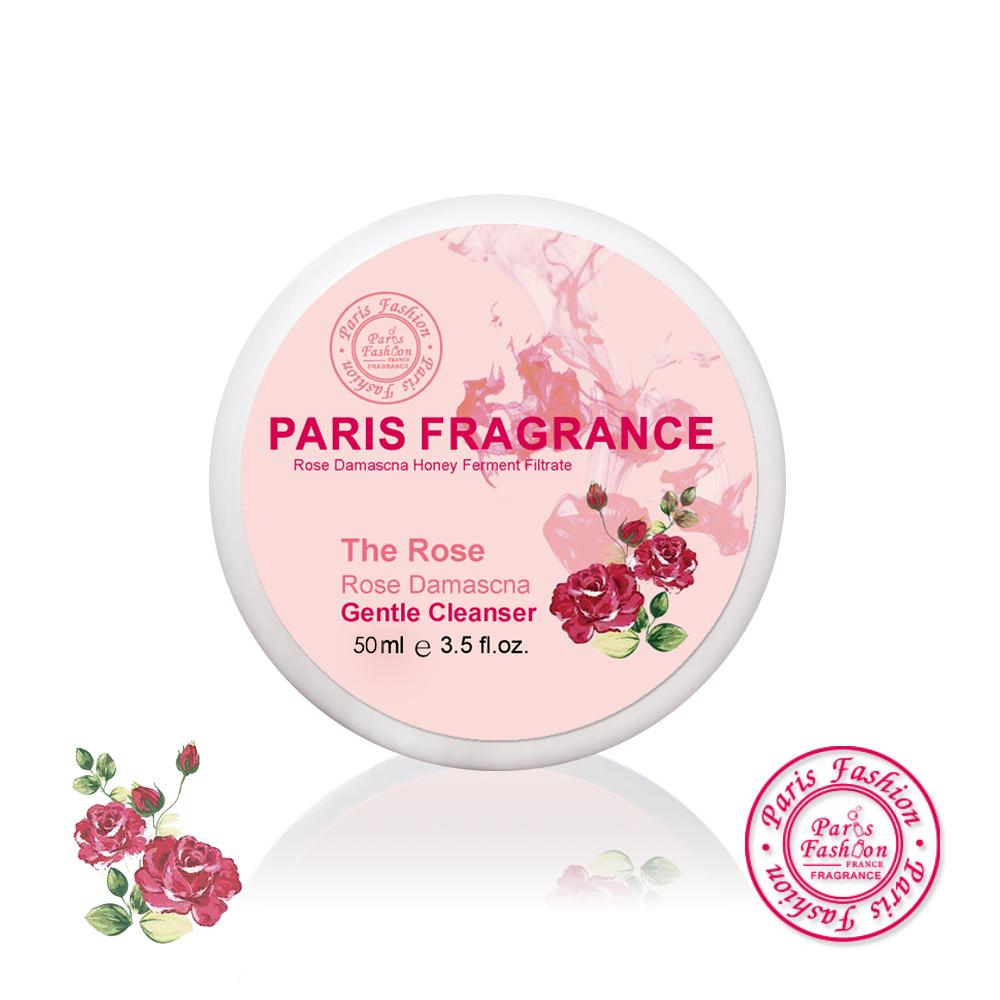 paris fragrance巴黎香氛-櫻桃C玫瑰淨化晶透洗顏泥