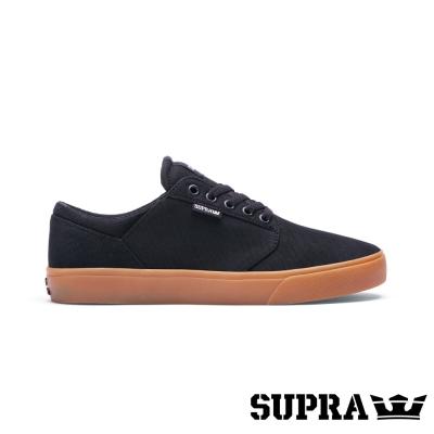 SUPRA Yorek LOW系列男鞋-黑