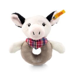 STEIFF德國金耳釦泰迪熊 - 嬰幼兒手搖玩偶 Cowaloo Grip Toy