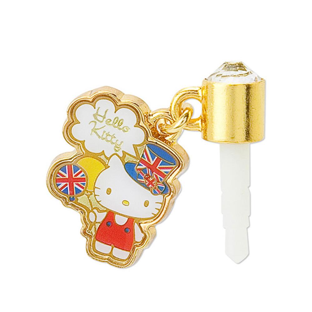 Sanrio KITTY英國倫敦系列耳機孔栓氣球