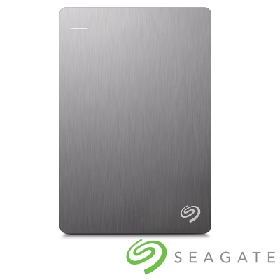 Seagate Backup Plus Silm 2TB USB3.0 2.5吋行動碟-銀