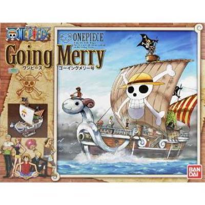 【BANDAI】航海王組合模型/MG 1/8 前進梅利號 Going Merry