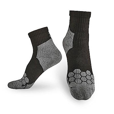 【Titan】太肯專業籃球襪_黑/灰_3雙(適合籃球、躲避球、衝擊跳躍型運動)