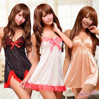 品牌聯合↘$196 法式風情魅惑睡衣 滿3件