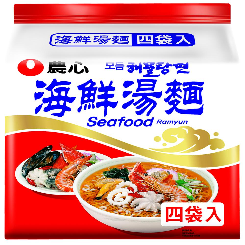農心 海鮮湯麵(4入/袋)