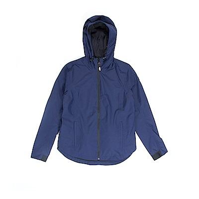 Timberland 女款深藍色印花防水外套