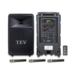 TEV DVD/CD/USB/SD三頻無線擴音機 TA780D-3