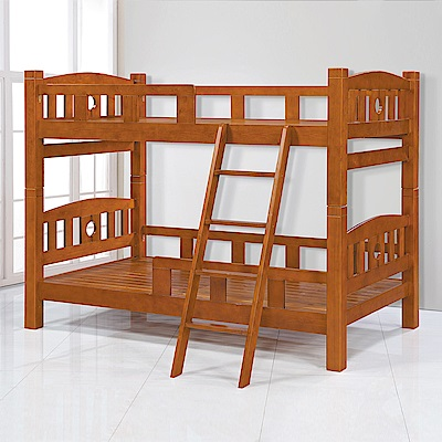 Bernice-奧古3.5尺實木雙層床架