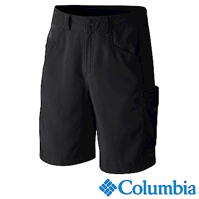 Columbia 哥倫比亞 男款-PFG防曬50防潑短褲-黑 UFM40130BK