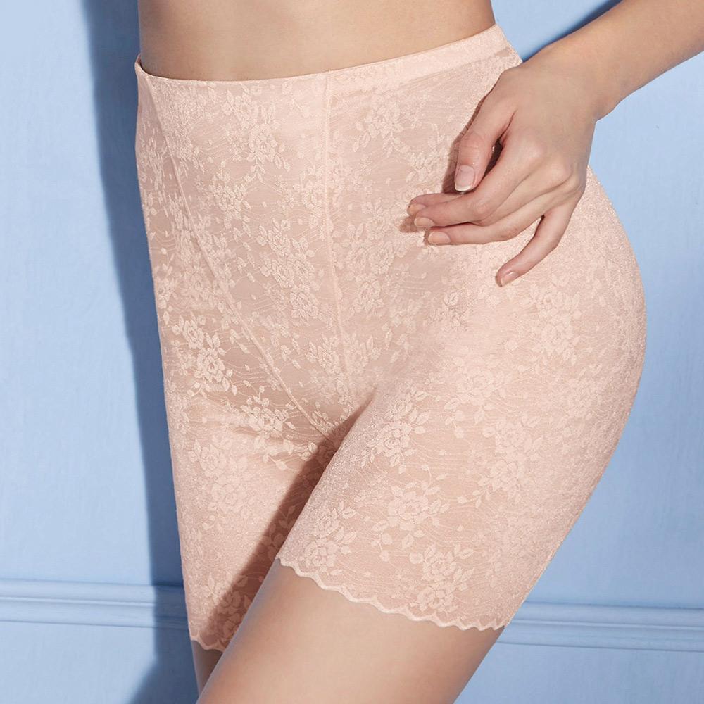 曼黛瑪璉-美型顯瘦 輕機能 高腰短管束褲 S-XL(裸麥膚)