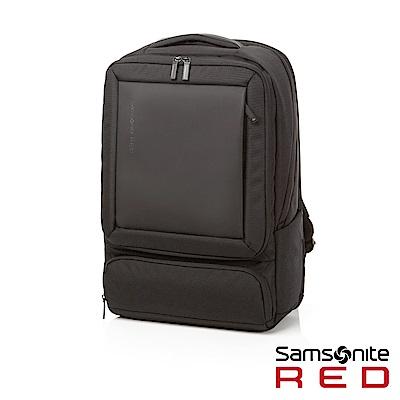 Samsonite RED BAGFORD 時尚大容量休閒筆電後背包L15.6吋(黑)