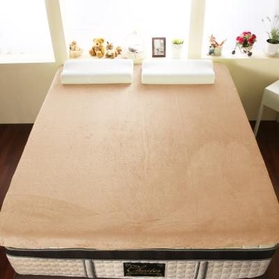奶白色-單人3尺-契斯特-12公分新法蘭絨舒適記憶床墊