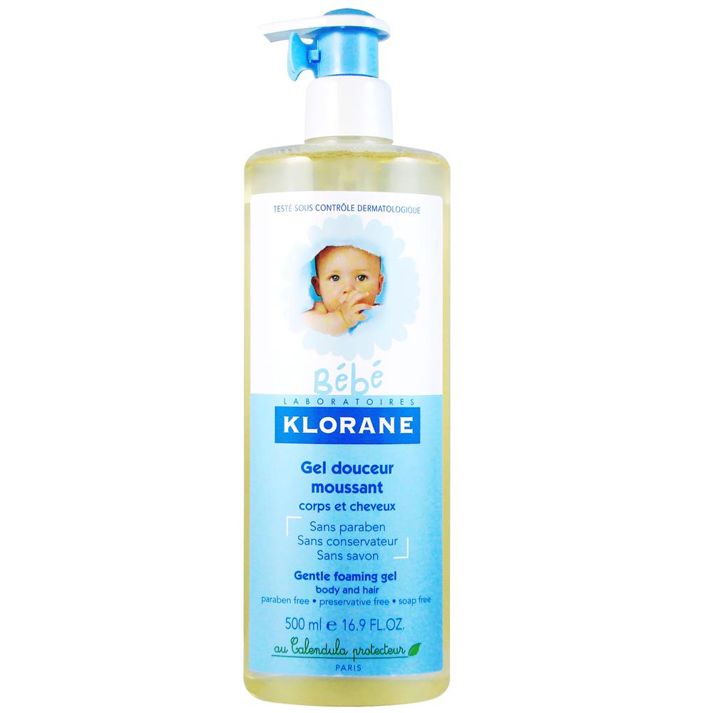KLORANE bebe蔻蘿蘭寶寶 新生兒洗髮沐浴精500ml