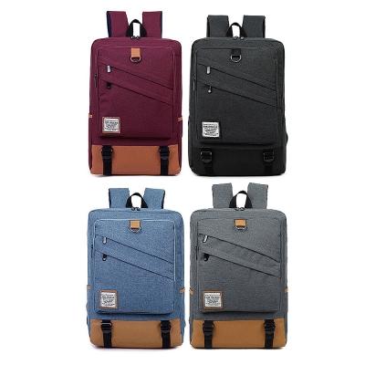 MYERS 15.6吋 率性丹寧 大容量雙拉鍊 平板筆電後背包