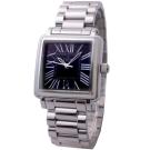 CLOIE 羅馬時標都會腕錶-黑/32mm