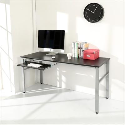 BuyJM 仿馬鞍皮低甲醛160公分單鍵盤穩重型工作桌-DIY