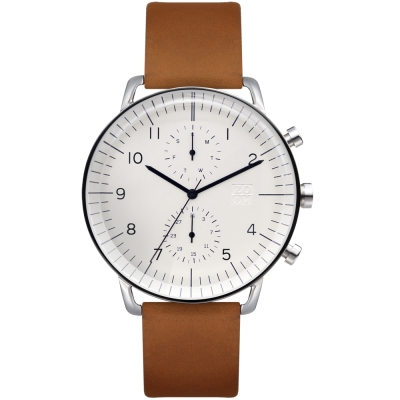 ZOOM Refine 旅行者多功能腕錶-白色44mm