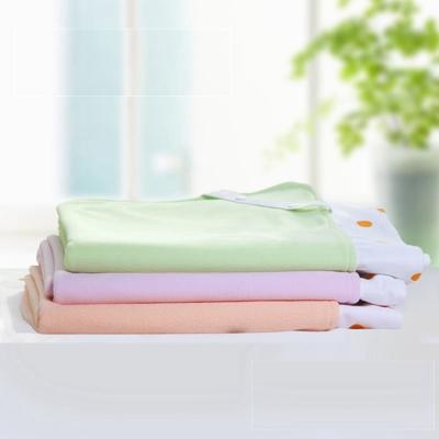 COTEX 可透舒 嬰兒床圓點防水透氣舖巾床包 粉橘 1 入
