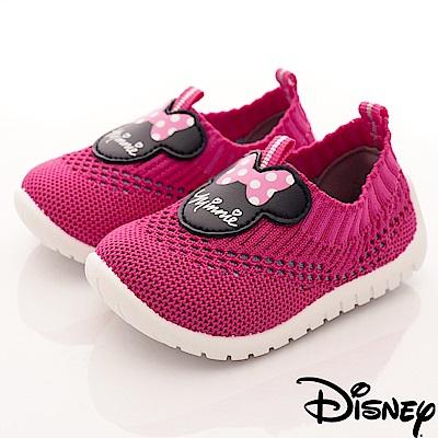 迪士尼童鞋 米奇針織懶人鞋款-ON18335桃(小童段)