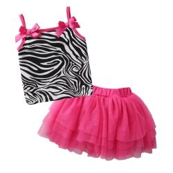 baby童衣 嬰兒洋裝豹紋 紗裙套裝 52234