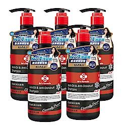台塑生醫 Dr's Formula控油抗屑洗髮精升級版(激涼款)580g*5入