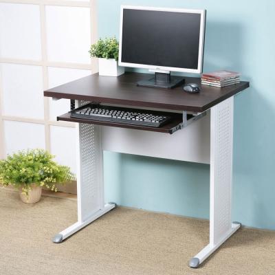 Homelike 路易80cm辦公桌-加厚桌面(附鍵盤架)