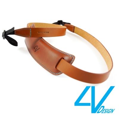 4V CLASSIC LARGE系列相機背帶 CL-VV2330-BL-棕/青色...