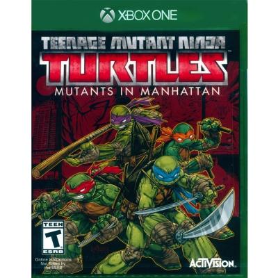 忍者龜:曼哈頓突變體 Ninja Turtles - XBOX ONE 英文美版