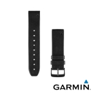 GARMIN Approach S60 QUICKFIT 22mm 黑色皮革錶帶