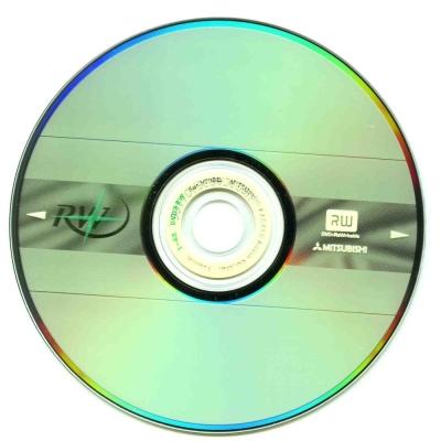 三菱 4X  DVD+RW 4.7GB燒錄片 10片裝