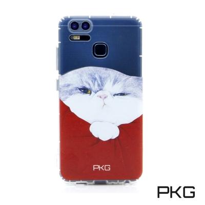 PKG ASUS ZENFONE GO 5.5吋 ZB552KL彩繪空壓氣囊手機殼-霸王貓