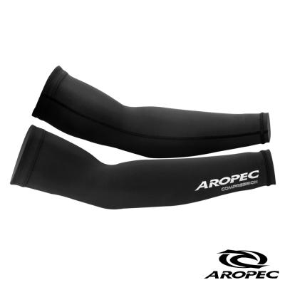 AROPEC 臺灣製造-機能型壓力長袖套 黑