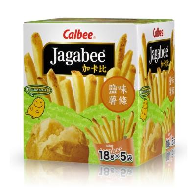 Calbee-薯條先生-鹽味-18gx5入