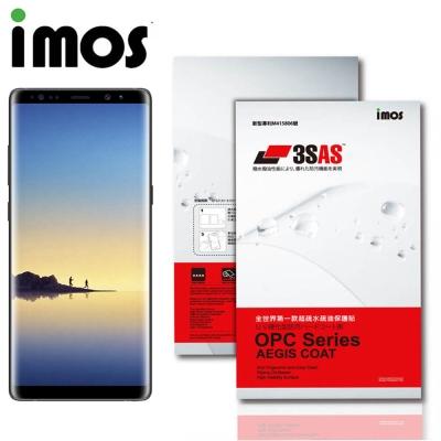 iMos SAMSUNG Galaxy Note 8 3SAS 疏油疏水 螢幕保...