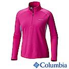 Columbia 哥倫比亞 女-鈦防曬15涼感快排立領上衣紫色 UAR19810PL
