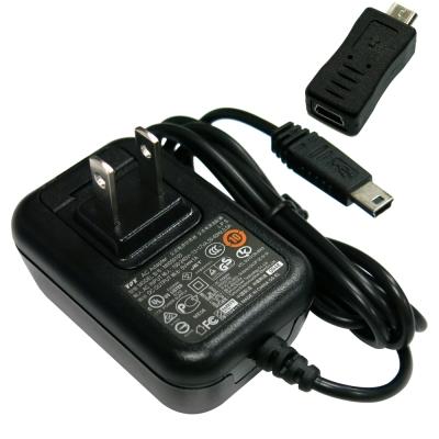 【Mio】原廠旅充 1.2米1A-Mini-Micro二用(適用 Mini /Micro USB接頭的設備)