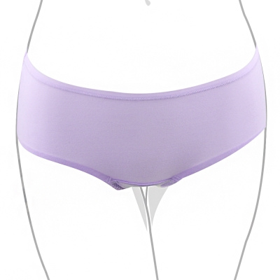 推easybody-HOLD的住內衣 中腰平口褲(浪漫紫)
