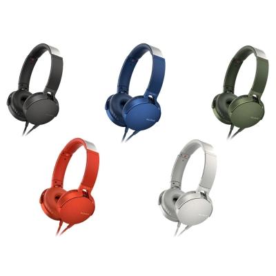 SONY 重低音頭戴式耳機 MDR-XB550AP