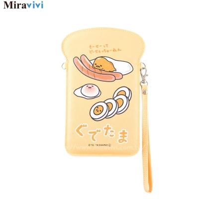 Sanrio三麗鷗蛋黃哥吐司造形手機萬用包