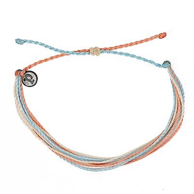 Pura Vida 美國手工 橘子泡泡基本繽紛款 可調式手鍊衝浪海灘防水手繩