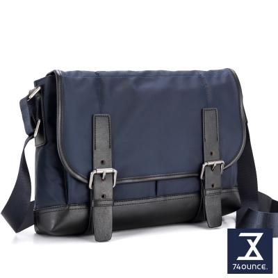 74盎司 Presence 雙帶設計側背包[G-874]深藍