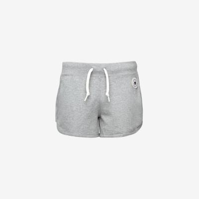 CONVERSE-女休閒短褲10003986A02-灰