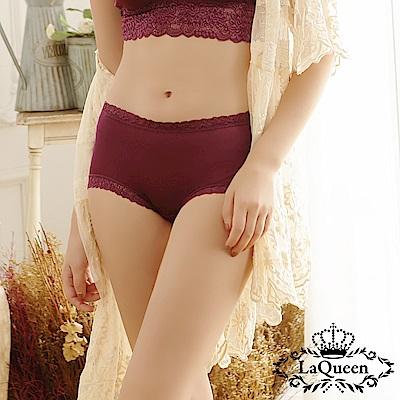內褲  優雅柔軟透氣全蠶絲內褲-深紫 La Queen