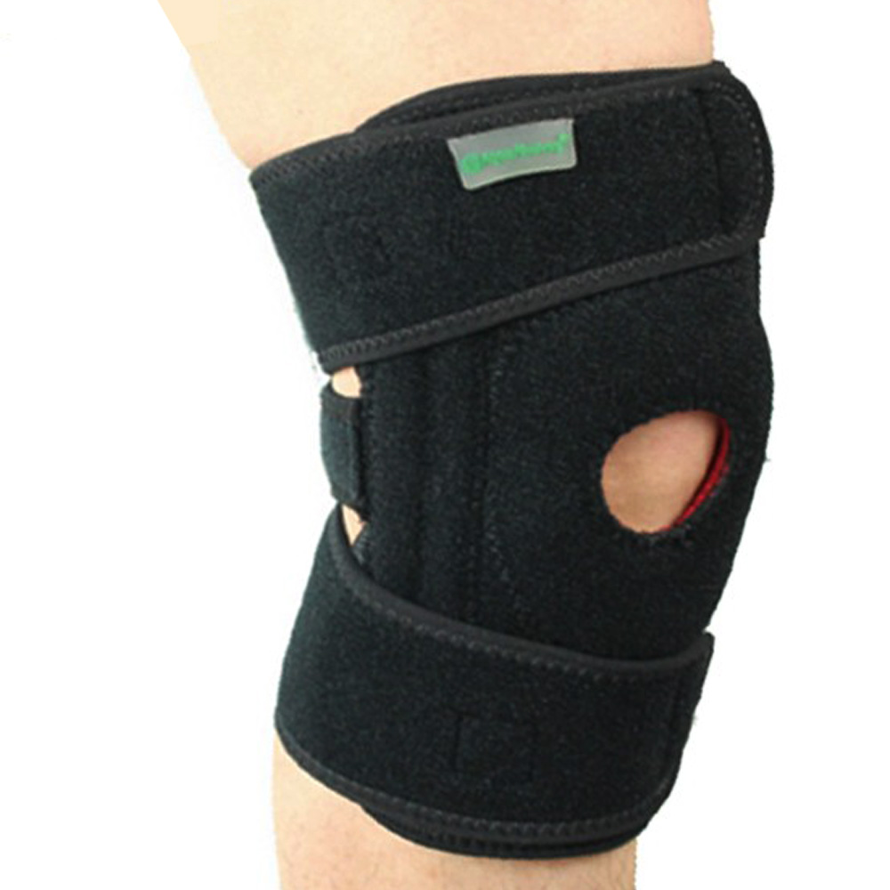PUSH! 運動戶外休閒用品 加強版依據運動種類之不同,可調節彈簧設計的護膝
