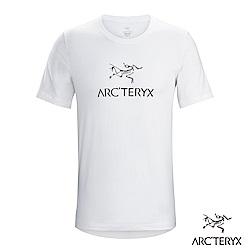 Arcteryx 24系列 男 有機棉 ARC'WORD 短袖T恤 白