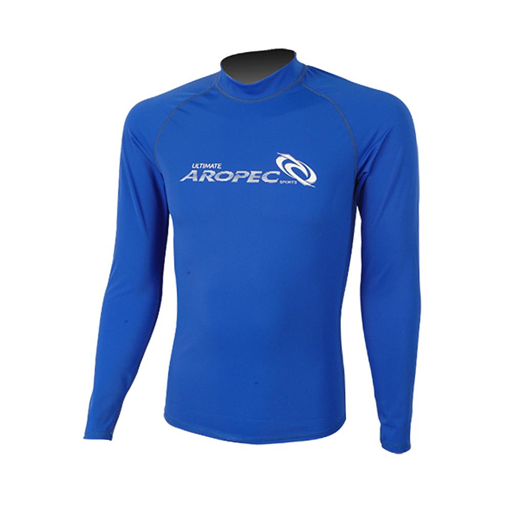 AROPEC Marvel 驚奇男款長袖防曬衣 藍色
