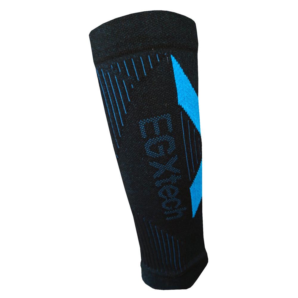 EGXtech CCS-1 分段加壓運動小腿套(黑藍)1雙
