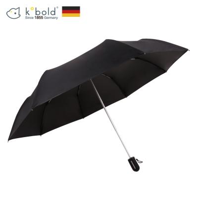 德國kobold酷波德 抗UV粉紅女王系列-矽膠蜂巢-按摩手把-遮陽防曬三折傘-神秘黑