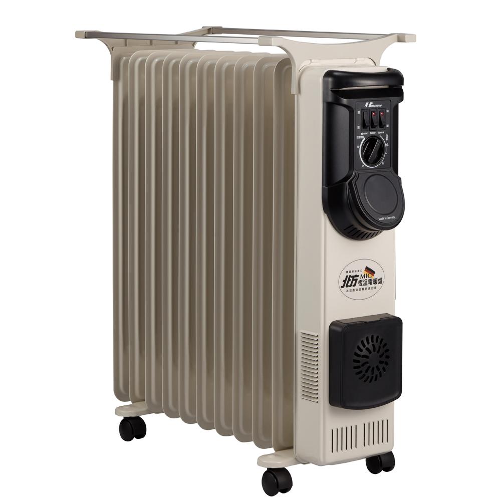 北方-11葉片式恆溫電暖爐(NP-11L)快速到貨